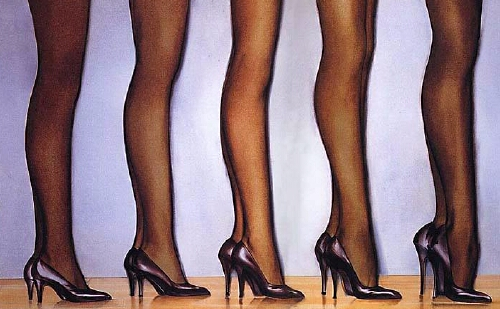Привыкание к высоким каблукам