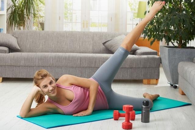 Как быстро похудеть дома фитнес упражнения для похудения