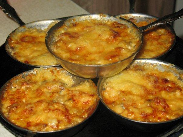 Суп жульен с грибами и курицей рецепт