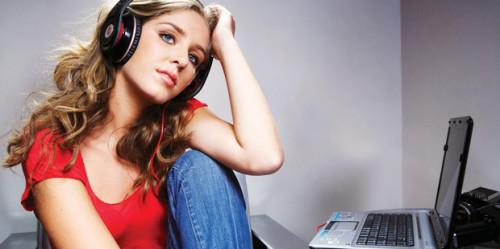 Женское хобби музыка