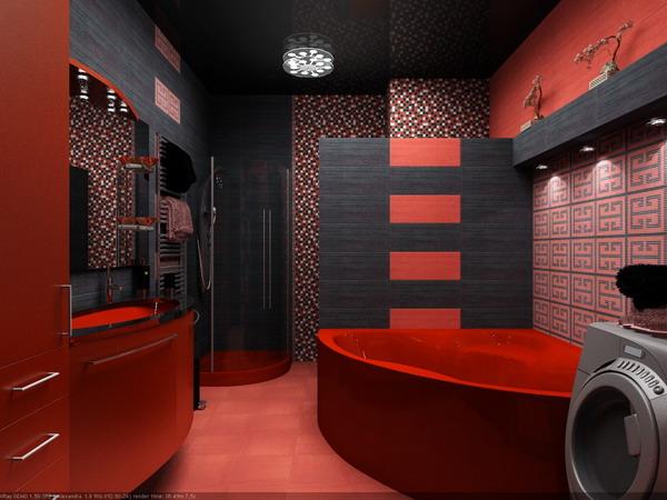 Теперь вы верите, что в красной ванной