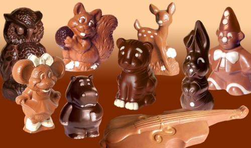 Фигурки из шоколада для торта своими руками