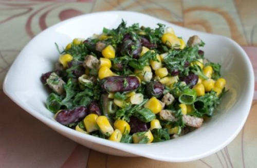 Самый быстрый салат