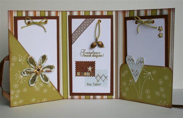 Как красиво украсить открытку на день рождения внутри 91