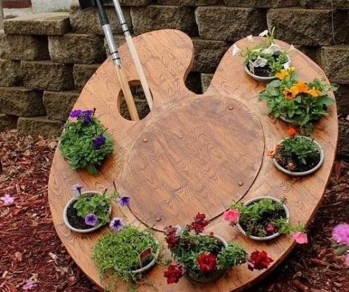 Идея выращивания цветов