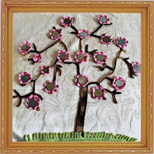 Дерево в подарок своими руками фото