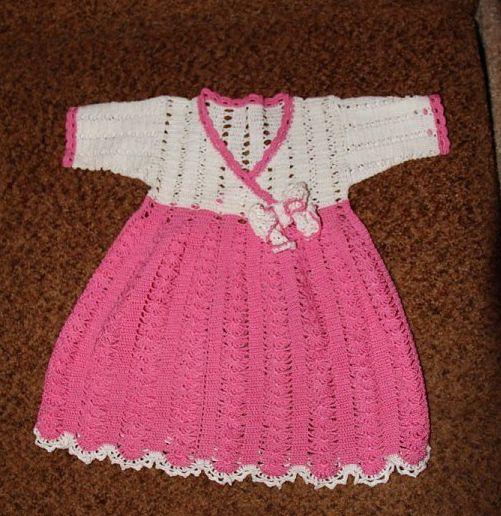 Детское платье, работа Марии Медведевой