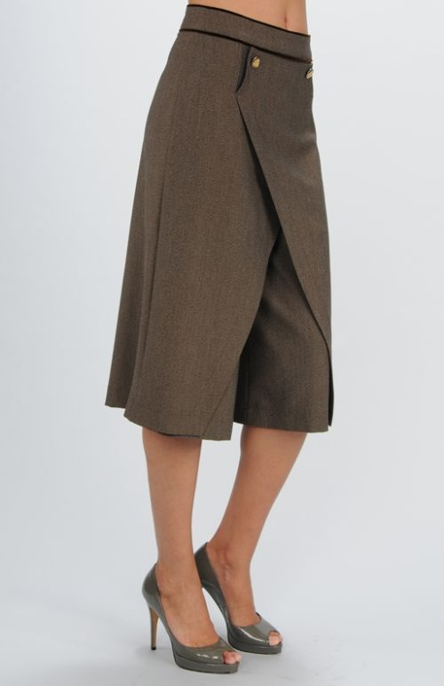 Юбка-брюки для офиса