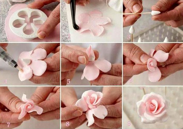 На торты цветы своими руками