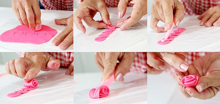 Украшения из мастики своими руками для начинающих пошагово