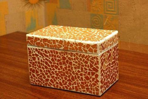 Шкатулка из коробки