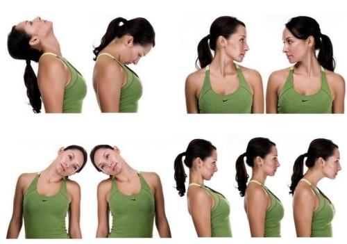 Простые упражнения для шеи