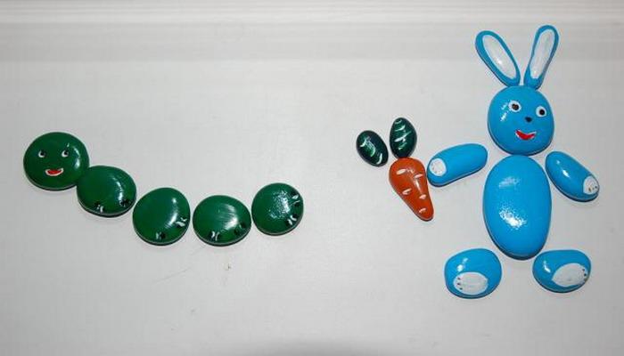 Поделки из камней своими руками детям