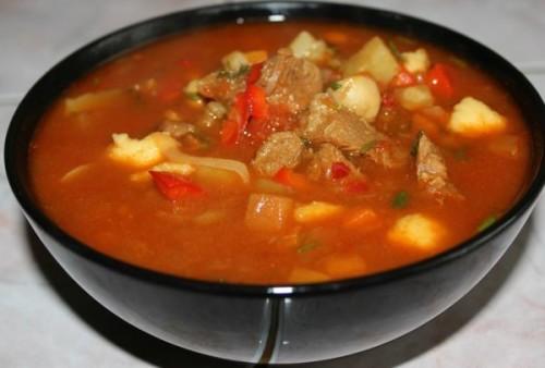Рецепт сытного супа