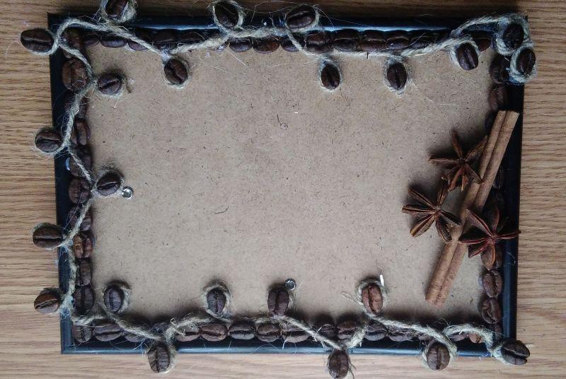 Рамки из кофе своими руками пошаговое фото для начинающих