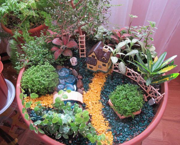 Как сделать сад в домашних условиях