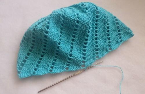 детская шапочка крючком для девочки