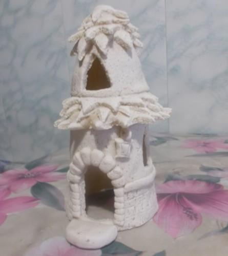 домик из соленого теста мастер класс