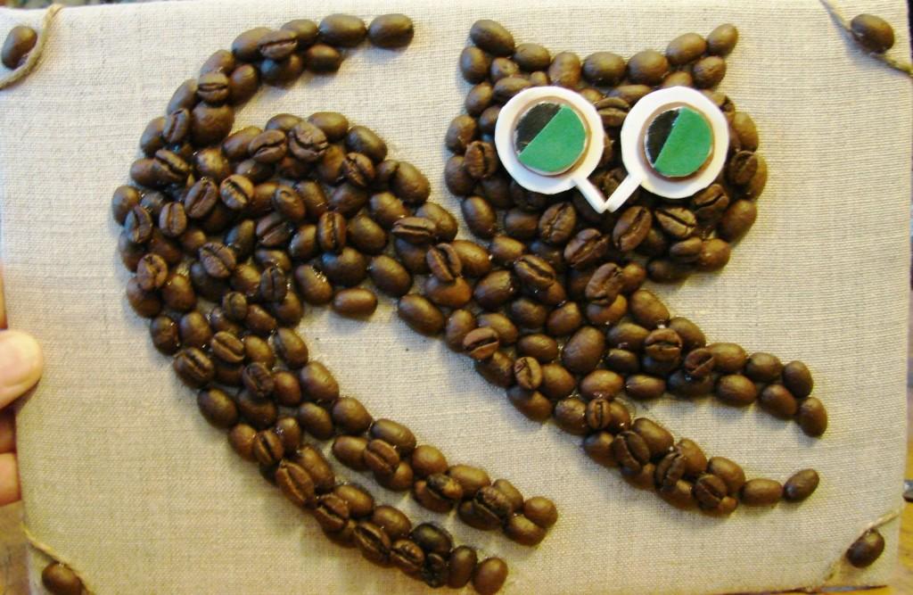 Своими руками из зёрен кофе