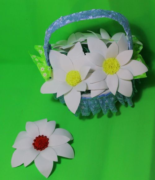 цветы ихз фоамирана