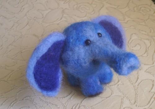 валяние слоник
