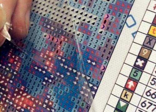 алмазная вышивка техника выполнения