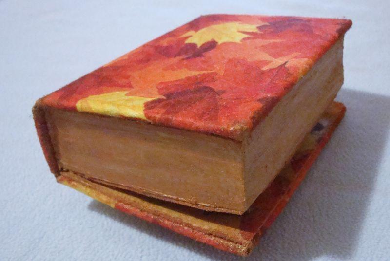 Мастер класс старинная книга