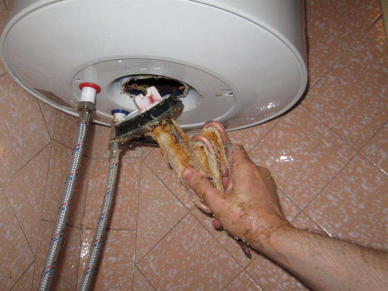 Чистка водонагревателя своими руками термекс 452