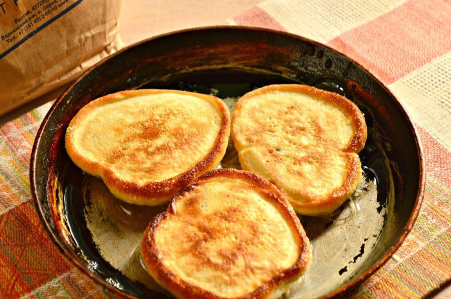 Вкусные оладушки пошаговый рецепт