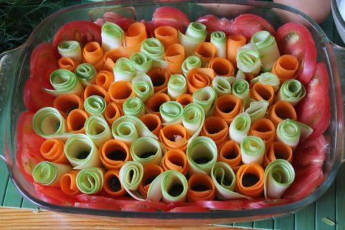 запеканка из овощей в духовке рецепты