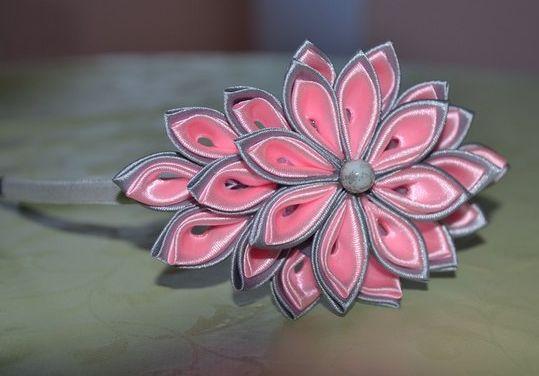 Как сделать цветы из меха фото 907