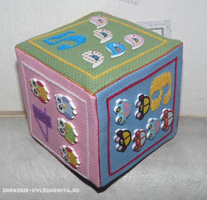 Сшить развивающий кубик пошаговая инструкция
