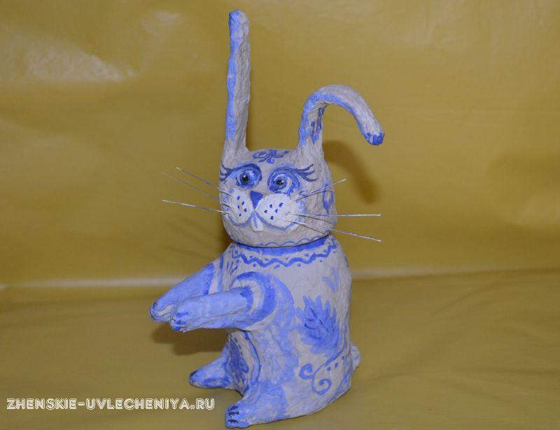 Шкатулка из папье маше своими руками в виде зайца: мастер-класс для начинающих