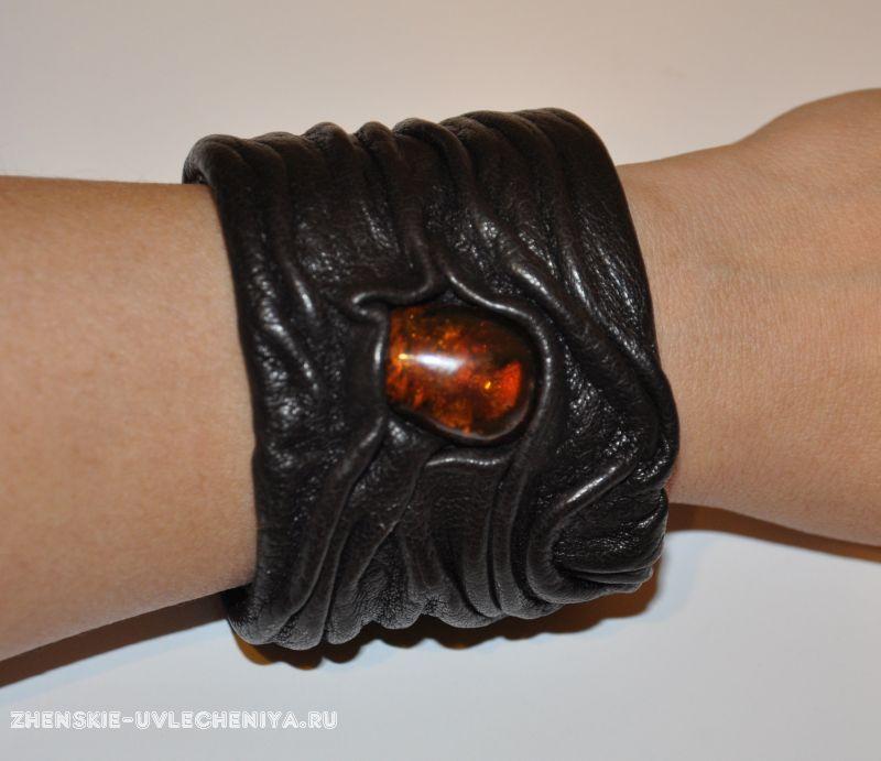 Как сделать кожаные браслеты своими руками 32