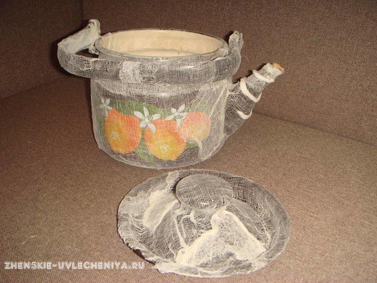 Старый чайник поделки 43