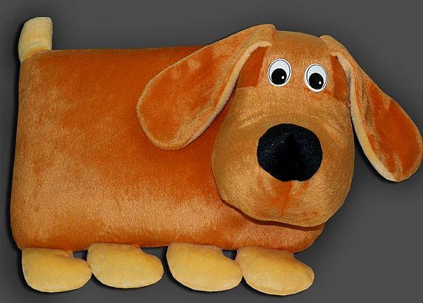 Подушка в виде собаки своими руками