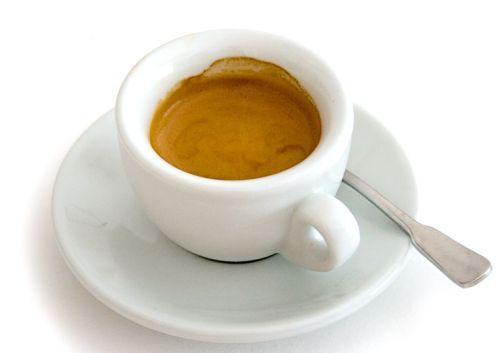 Эспрессо в маленькой чашке