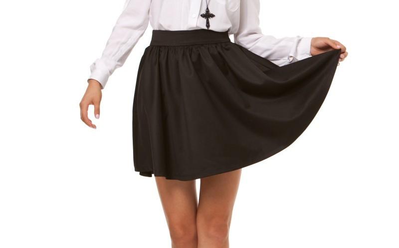 Расклешенная юбка пошив