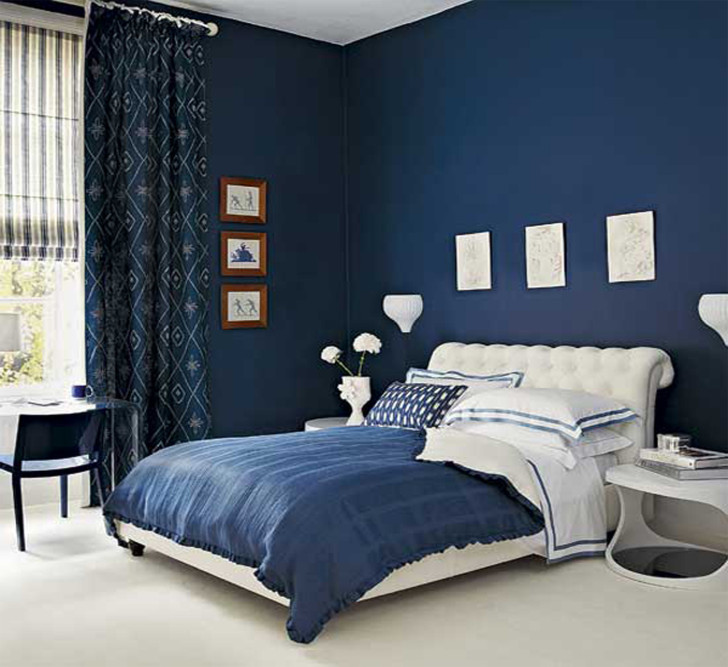 Самый лучший цвет для спальни