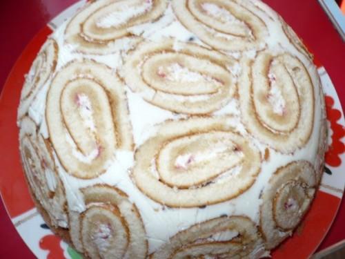 Сметанный торт с желатином
