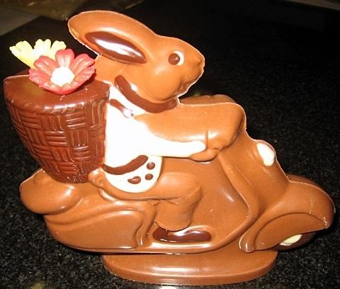 Шоколадные фигурки своими руками