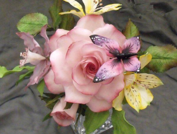 Цветы из шоколада своими руками мастер фото 205