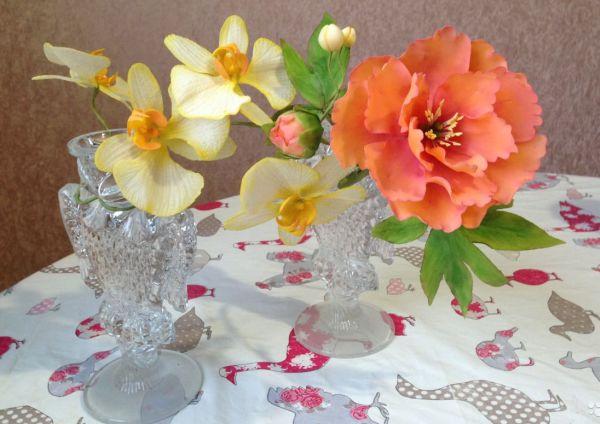 Эластичная сахарная мастика цветы купить мастика бпм-3