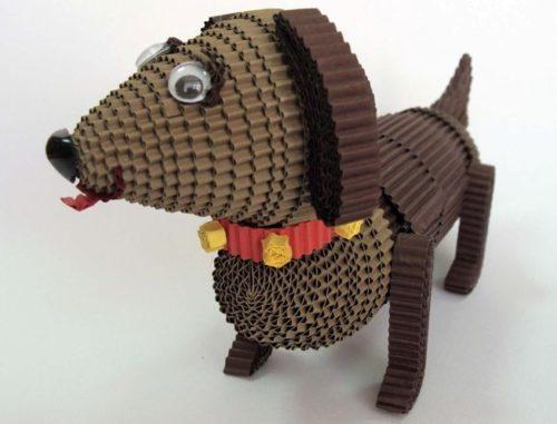 Гофороквиллинг, собака