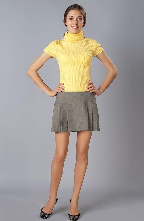 Моя жена носить мини юбка
