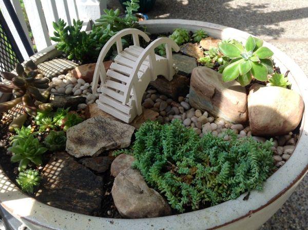 Миниатюрные сады своими руками фото 95