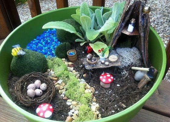 Миниатюрные сады своими руками фото 314