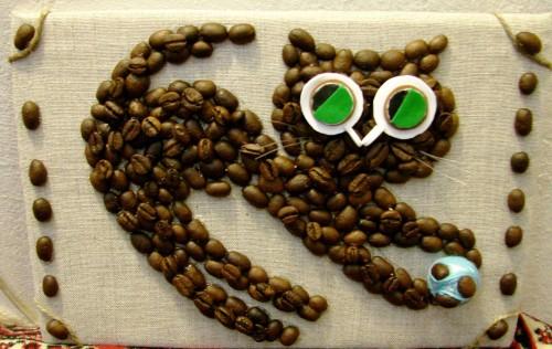 мастер классы картин из кофе