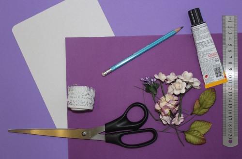 Своими руками бумажные цветы для скрапбукинга 180