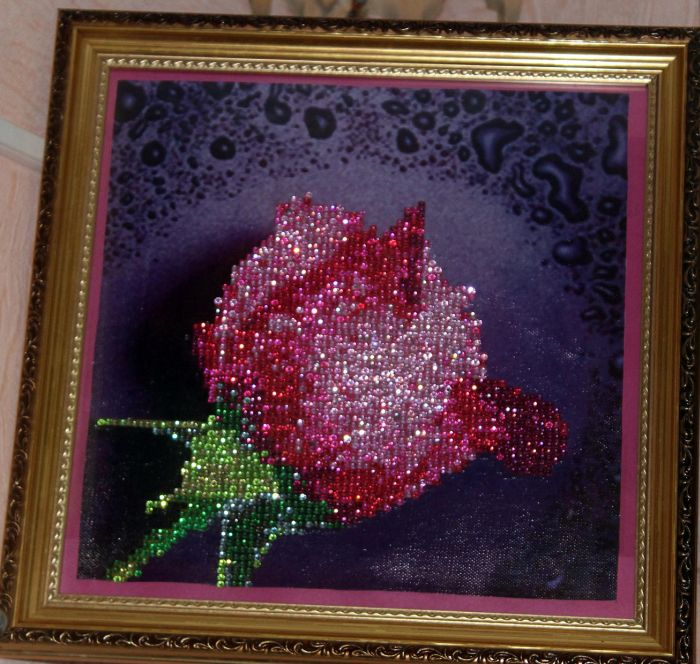 Алмазная вышивка павлины фото готовых работ